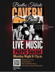 PAFPC CONFERENCE – MATTERHORN LOUNGE LIVE BEATLES TRIBUTE BAND–THE CAVERN BEAT